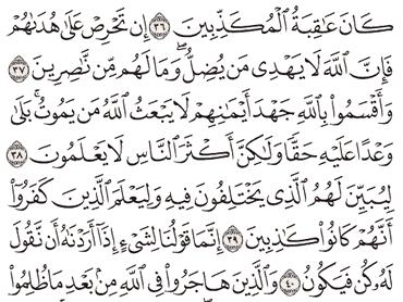 Tafsir Surat An-Nahl Ayat 36, 37, 38, 39, 40