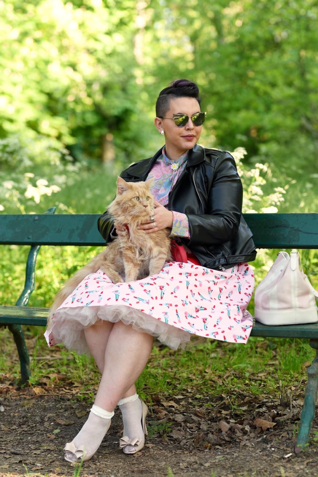 le chat et son humaine