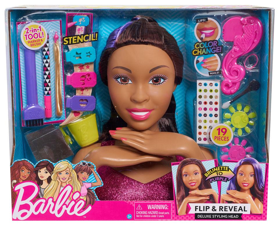 Doll Head Hair Styling: Ken Doll: Barbie Winter Getaway, Rockers, Styling Head