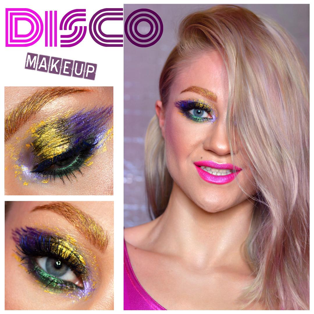 Jagna Makeup Disco Inspired Makeup