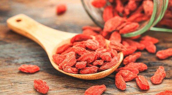 fructele goji contin vitamina c