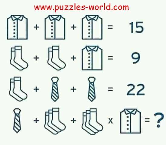 Shirt Shirt Shirt Puzzle