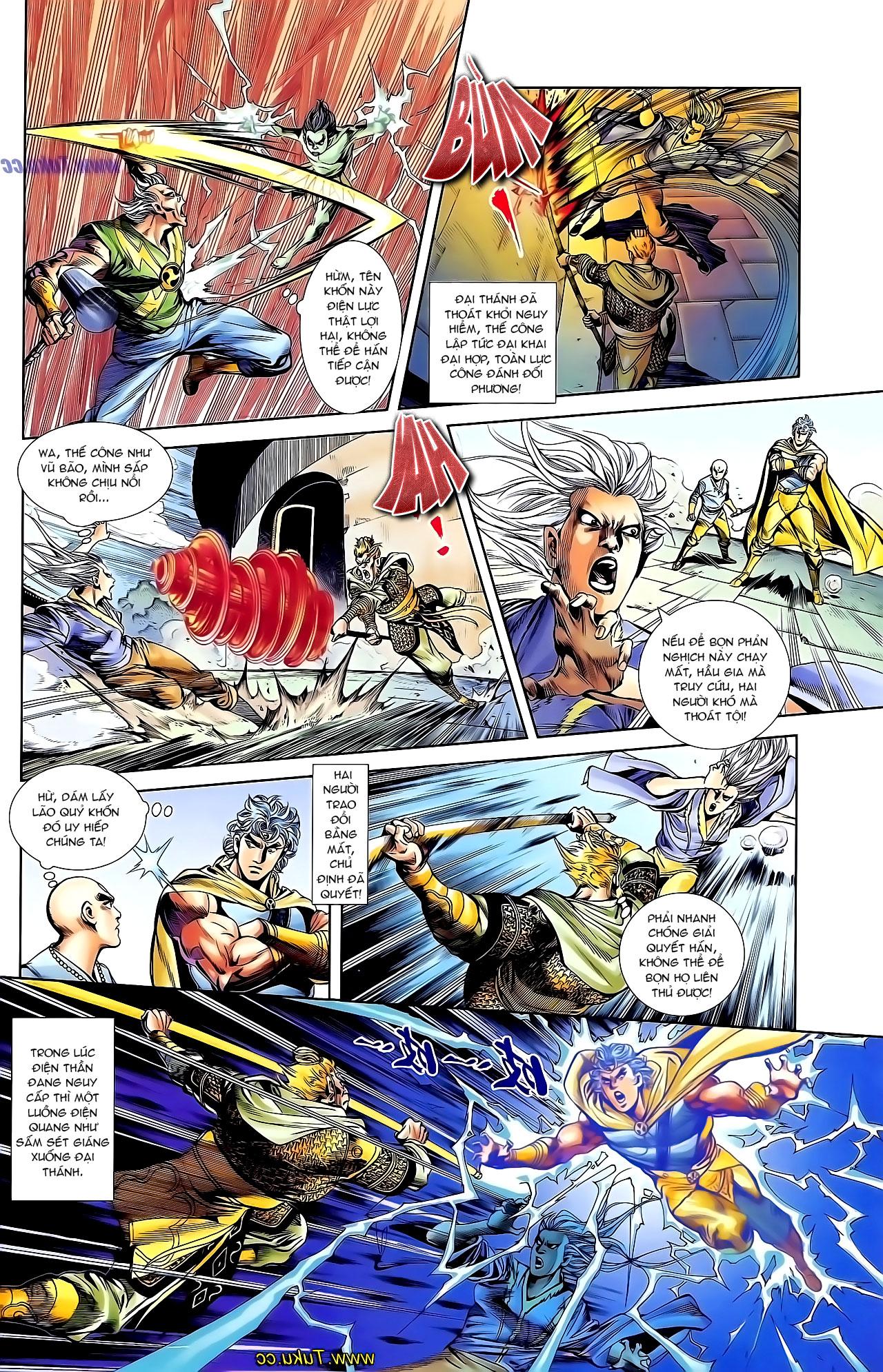 Cơ Phát Khai Chu Bản chapter 126 trang 5