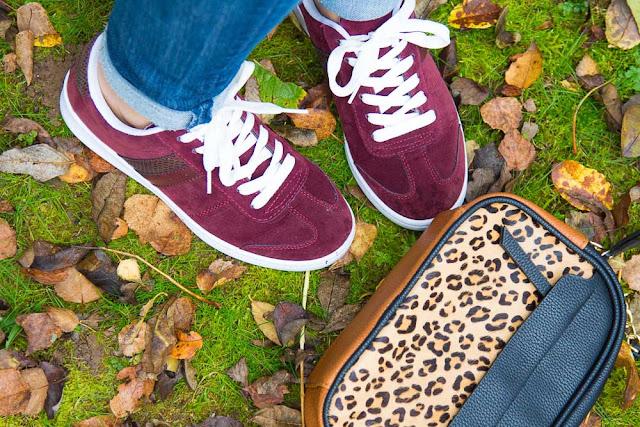 accessoires - baskets - sac - leopard
