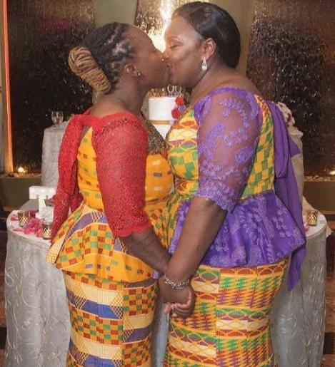 2 ghanaian women lesbians marry holland