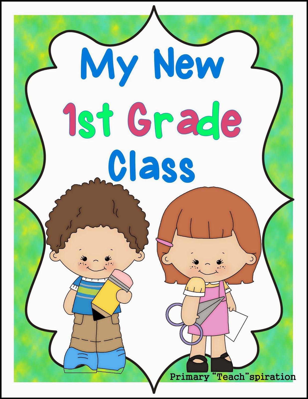 http://www.teacherspayteachers.com/Product/Beginning-of-the-Year-1st-Grade-1292794