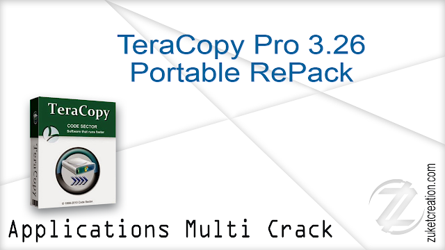 TeraCopy Pro 3.26 Portable RePack | 6 MB Application Full Version