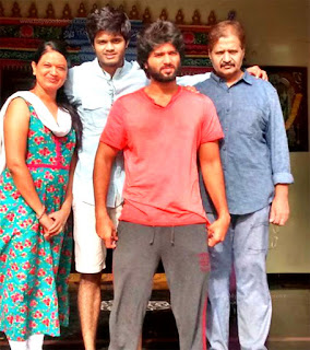 Vijay Deverakonda Family Photos