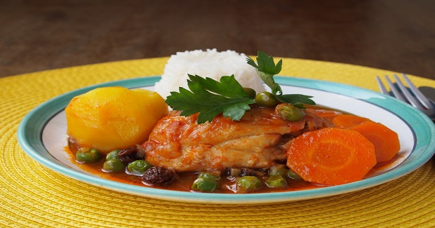 Estofado De Pollo (Chicken Stew ) Recipe