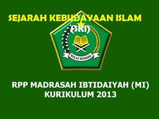 RPP SKI Kelas 5 MI Kurikulum 2013 (Madrasah Ibtidaiyah) Revisi
