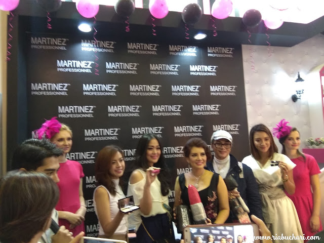 Martinez Professionnel, Make up Para Celebrity