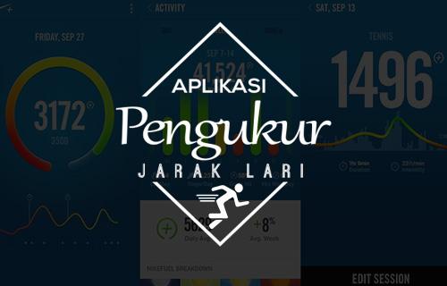 Aplikasi Pengukur Jarak Lari