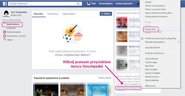 Jak zaimportować / wyeksportować wydarzenia z Facebooka