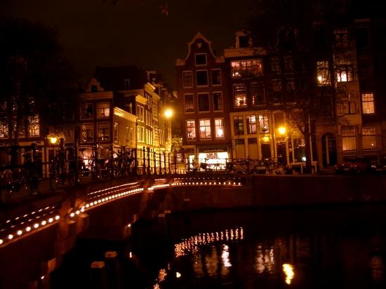 Pont à Amsterdam