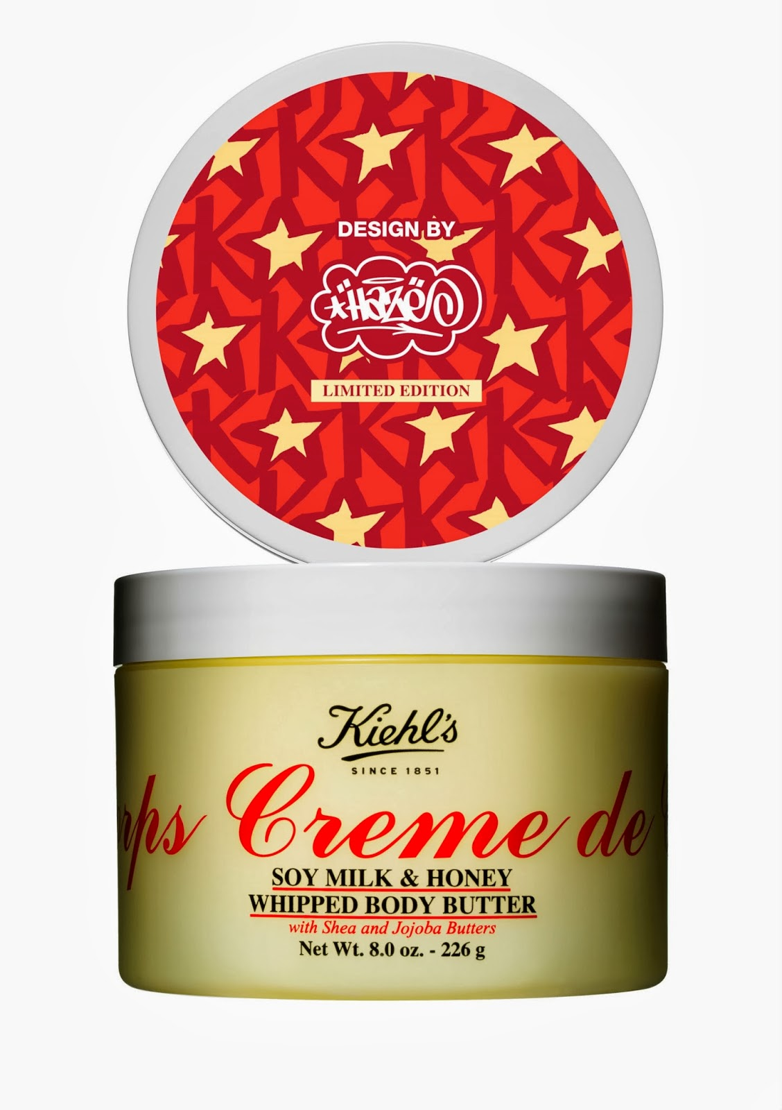 Kiehl's Creme de Corps Soy Milk & Honey Whipped Body Butter