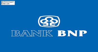 gambar Lowongan Kerja Bank BNP april 2016