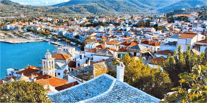 Come trovare la zona migliore per alloggiare a Skopelos