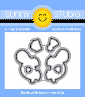 Sunny Studio Stamps: Introducing Turtley Awesome Die Set releasing January 2016