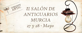 Cartel de Curiosity Antic del II Salon de Anticuarios de Murcia