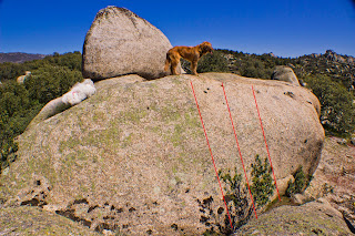 Placa Bloque Boulder Torrelodones Croquis