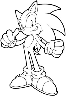 super sonic the hedgehog coloring pages to print colorings net