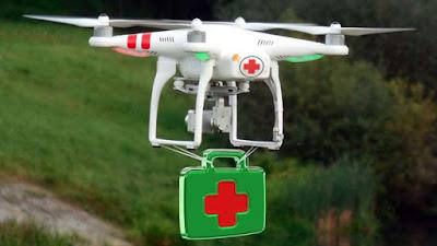 ZTE i la Xina Telecom recorren drones per comunicar emergències