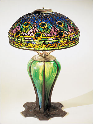 Finding My Way By Moonlight Tiffany Studios The