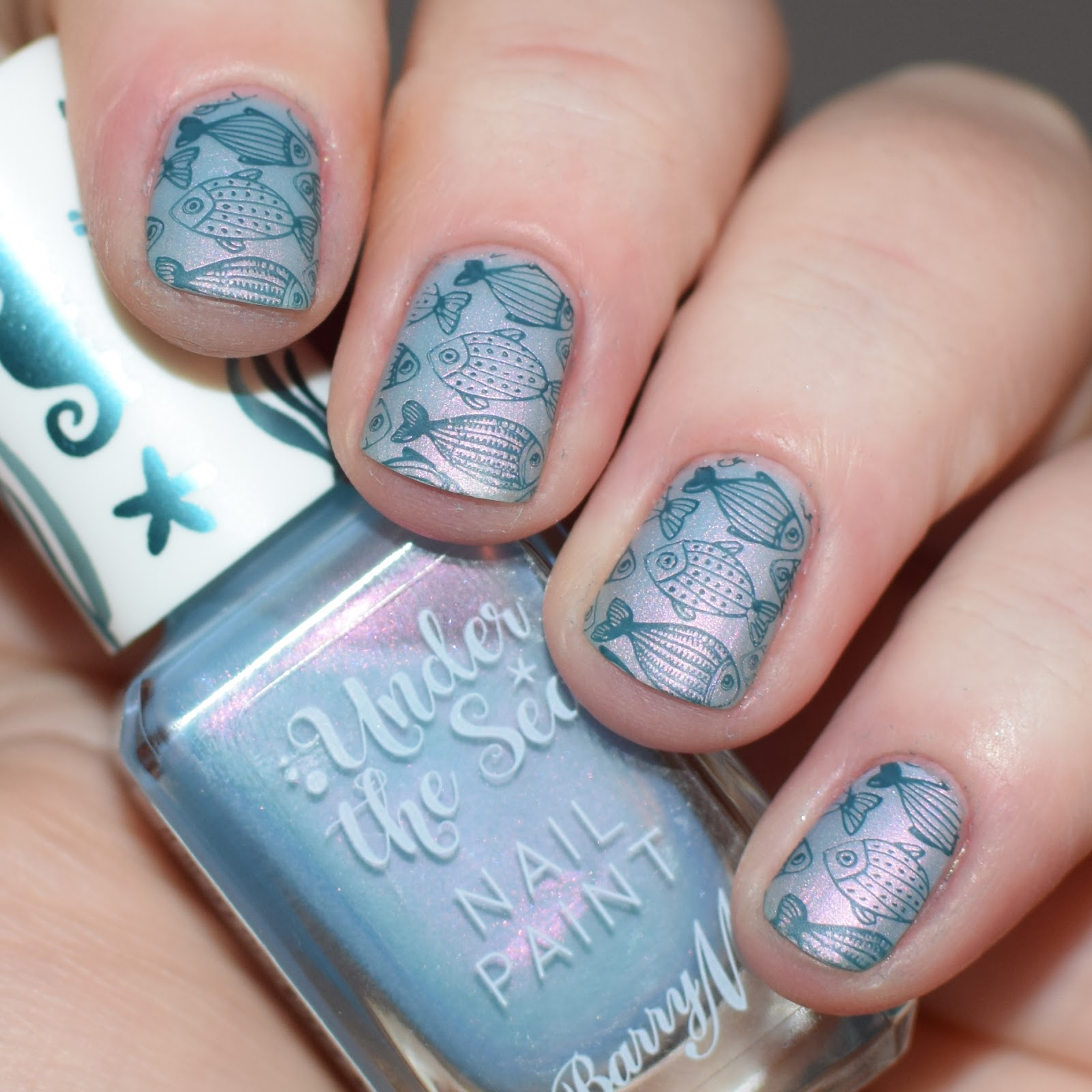 Barry M\'s Under The Sea Collection // Swatch & Review | Nimy Nails