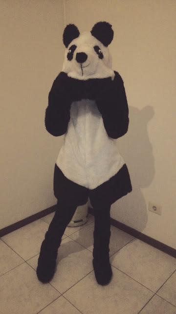 DIY costura: disfraz de oso panda para este carnaval