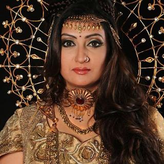 Foto Juhi Parmar sebagai sebagai Sangya/Chhaya (ibunya Shani) di Shani ANTV