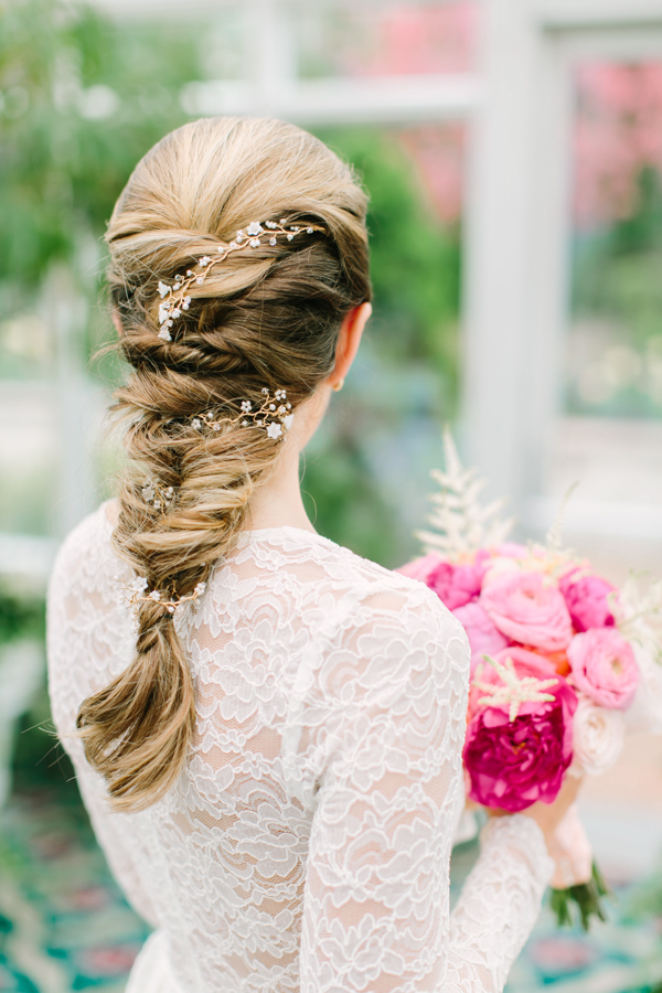 Bridal Shower Hairstyle : Dressed by jess: aisle style: garden inspired bridal shower