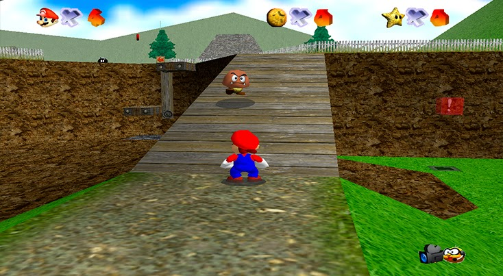Super Mario 64 Hd Pc 65 Mb Espanol Mega Juegos Pc