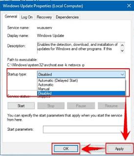 Cara Mematikan Fitur Windows Update Pada Komputer Server UNBK