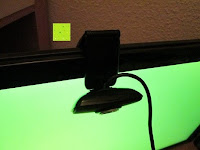 Kabel im Weg: AUSDOM® AW310 720P USB 2,0 HD Webcam Kamera mit eingebautem Mikrofon für PC, Laptop Schwarz