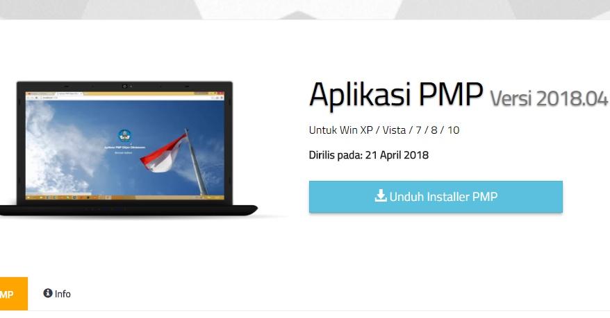 Rilis Aplikasi Pemetaan PMP 2018.04 Pembaruan