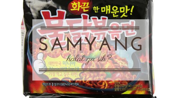 Samyang Chicken Ramen Halal