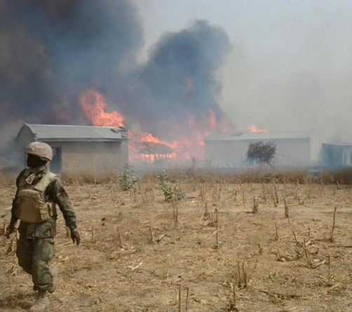 boko haram shrine destroyed