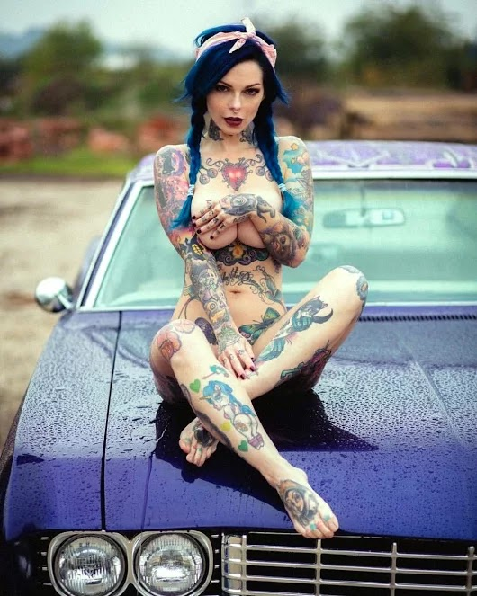 Female full body Tattoos Gallery