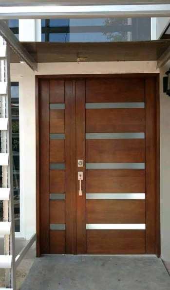 contoh pintu minimalis