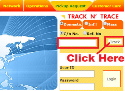 how to track professional courier with airway bill number