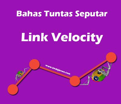 Bahas Tuntas Mengenai Link Velocity - Pengertian, Kegunaan, dan Pengaruh ke SEO