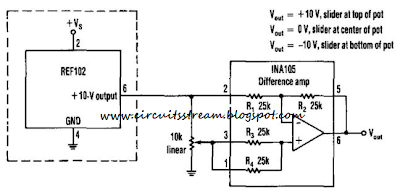 Simple Positive And Negative Voltage Power Supply Circuit Diagram