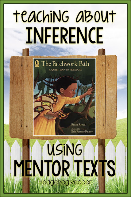 ideas of how to use mentor texts to teach elementary students about inference