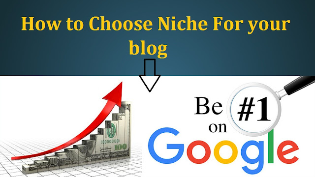 choose Niche - Blog Ideas
