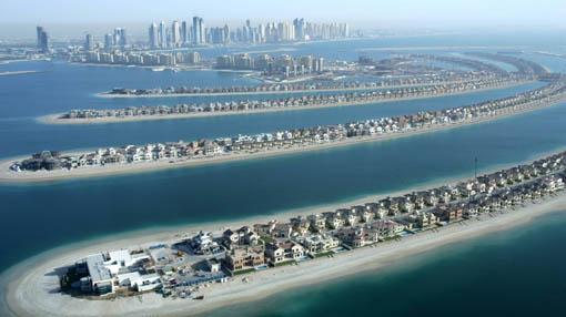 The Palm Islands, Dubai
