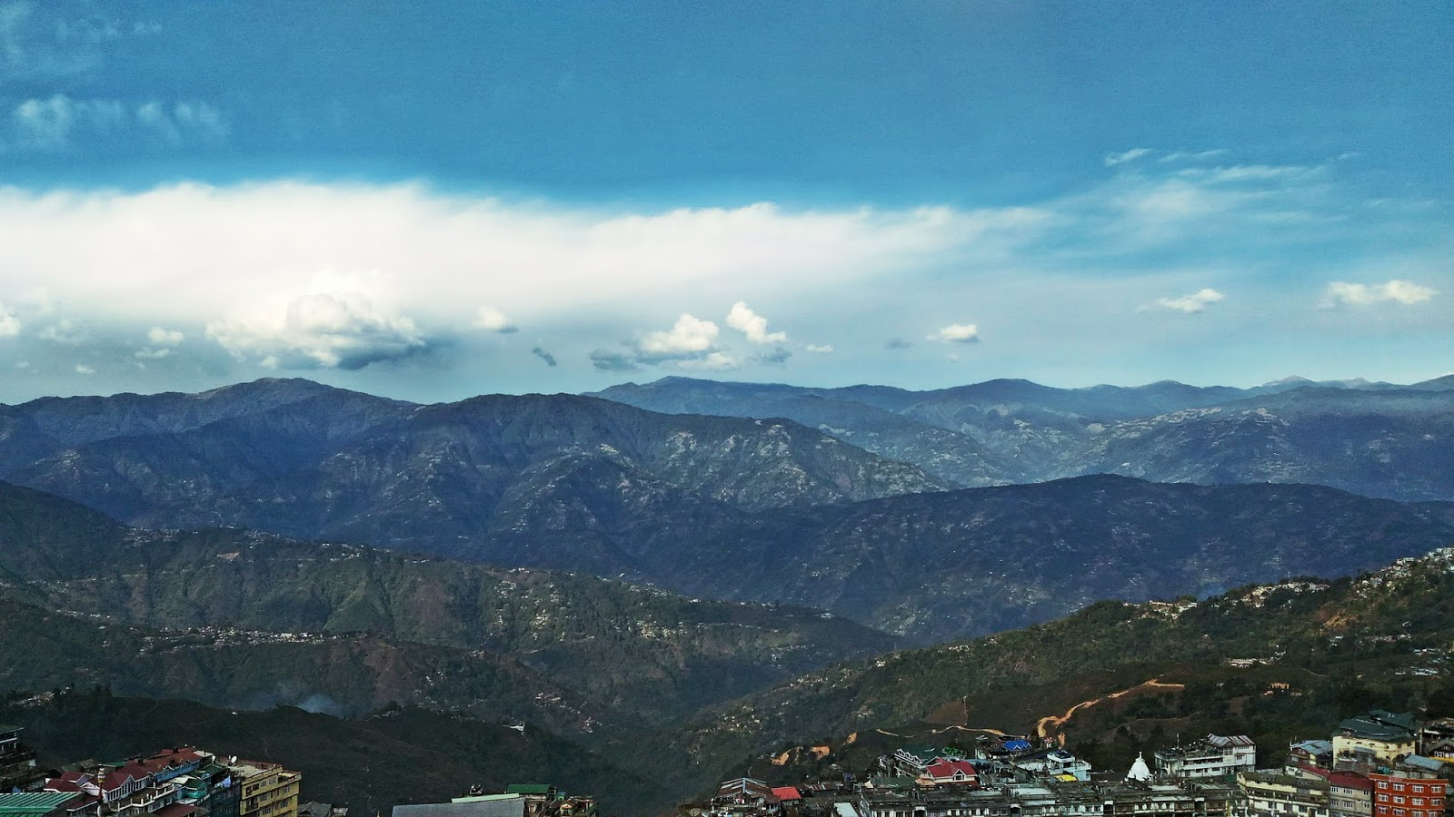 Darjeeling   The City View