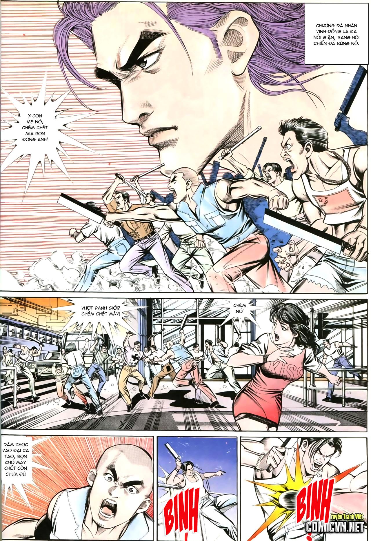Người Trong Giang Hồ chapter 202: đối đầu trang 23