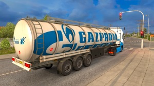 Gazprom Cistern + Volvo 2012 skin