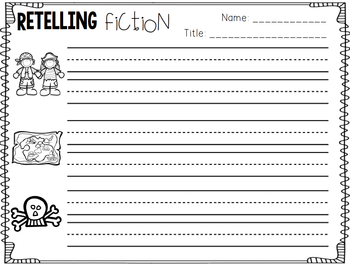 Teach Dream Inspire Retelling Fiction Text And A Freebie