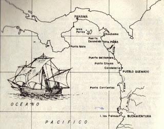 Primer Viaje de Pizarro
